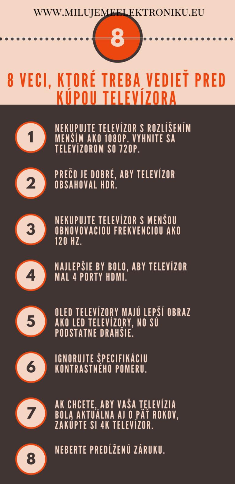 8 veci, ktoré treba vedieť pred kúpou televízora